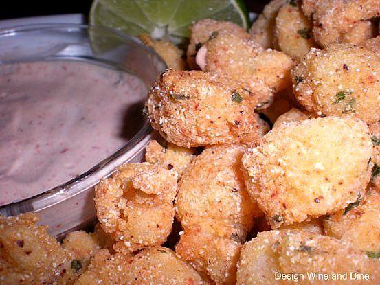 Cornmeal Crusted Bay Scallops by Carolyn McCaffrey Stalnaker, via ...