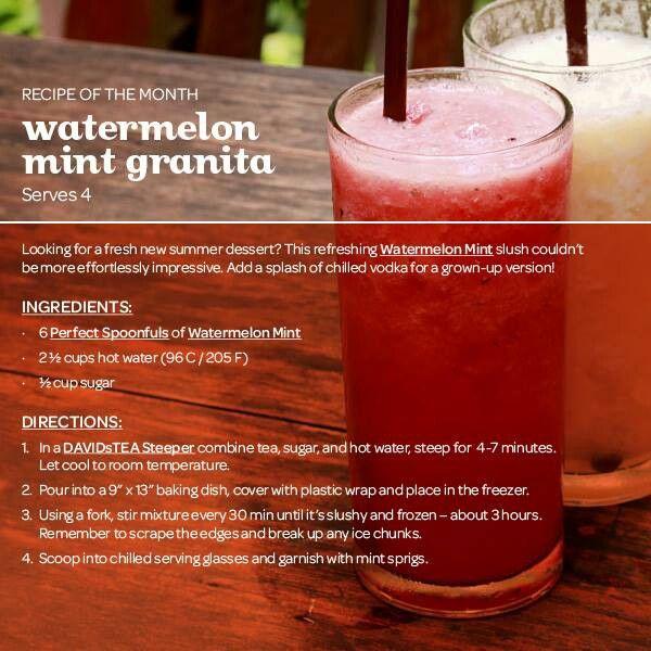 Watermelon mint granita | DriNKs, Cute CoCKtaiLs, JuiCeS & Co. | Pint ...