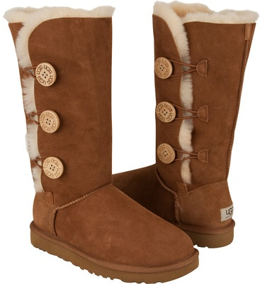 how to tell fake ugg bailey button triplet