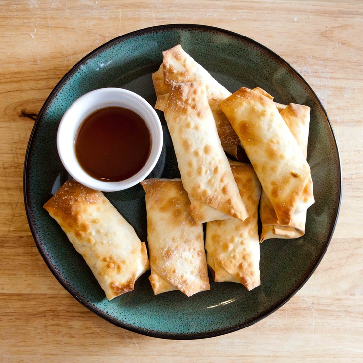 baked vegetarian or shrimp egg rolls | yum recipes | Pinterest