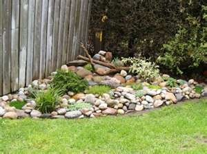 Simple Rock Garden Outside Pinterest