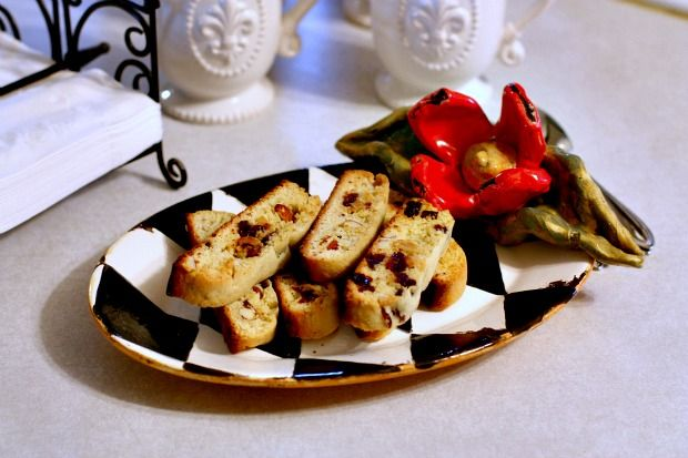 Cherry Almond Biscotti | Recipes For Divine Living | Pinterest