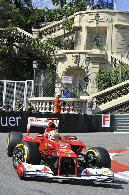 monaco grand prix time trials