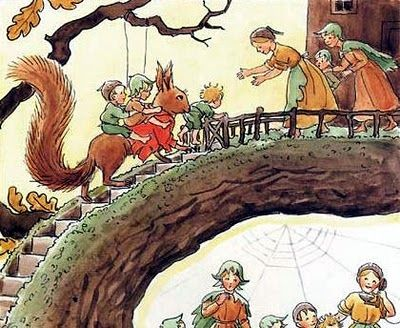 Good Books For Young Souls: ELSA BESKOW: A SWEDISH ILLUSTRATOR