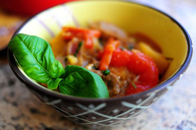red thai duck curry {pioneer woman}