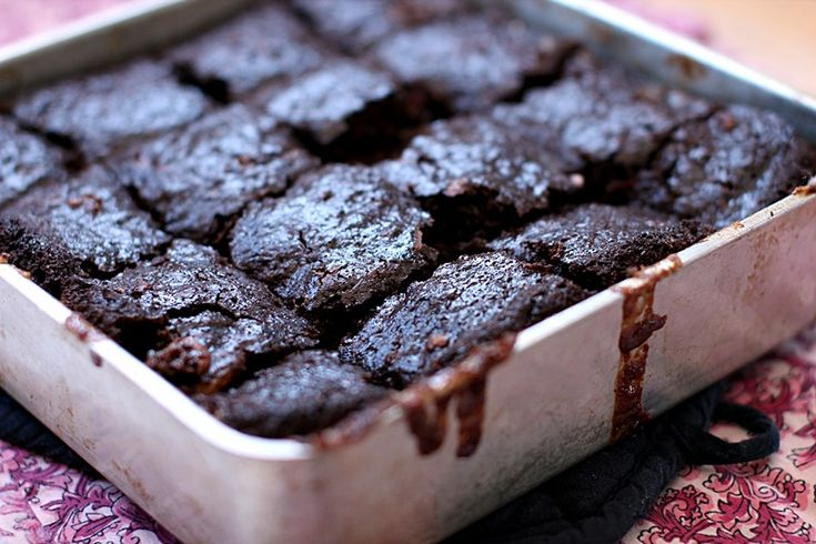 white chocolate chip and zucchini Brownies, must try! Already made the ...
