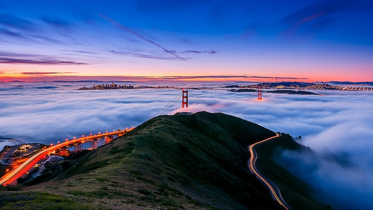 San Francisco's Golden Gate Bridge, California by Joe Azure literally the way to my heart