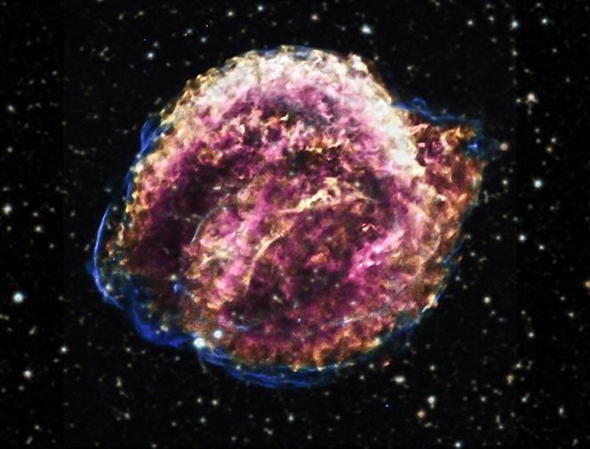 supernova in the night sky - photo #12