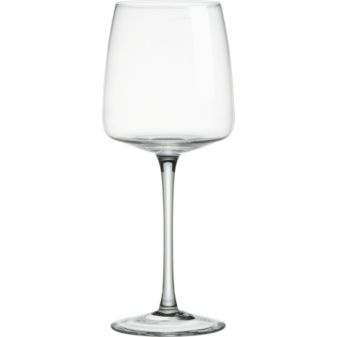 Walker Wine Glass. Love the flat base of the glass.
