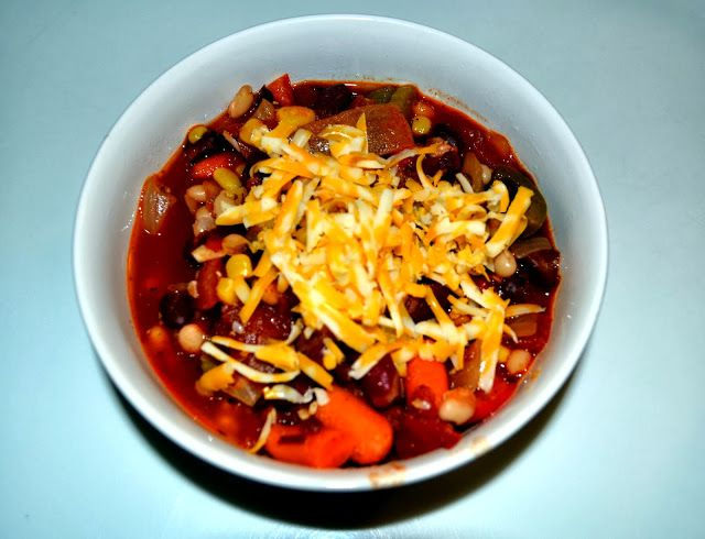 Spicy Vegetarian Chili | bon appetit! | Pinterest