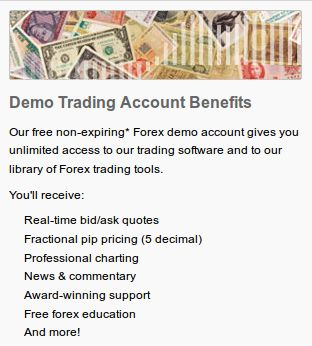 Forex account benefits