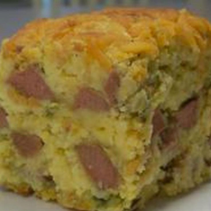 Corn Dog Casserole - Two things make this delicious but still ...