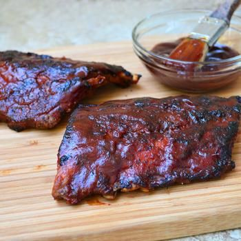 Barbecued Baby Back Ribs | Grilling Year Round | Pinterest