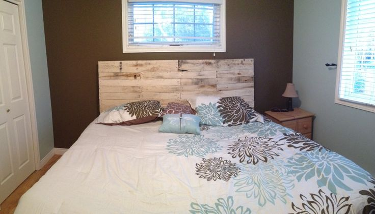 DIY pallet headboard | House | Pinterest