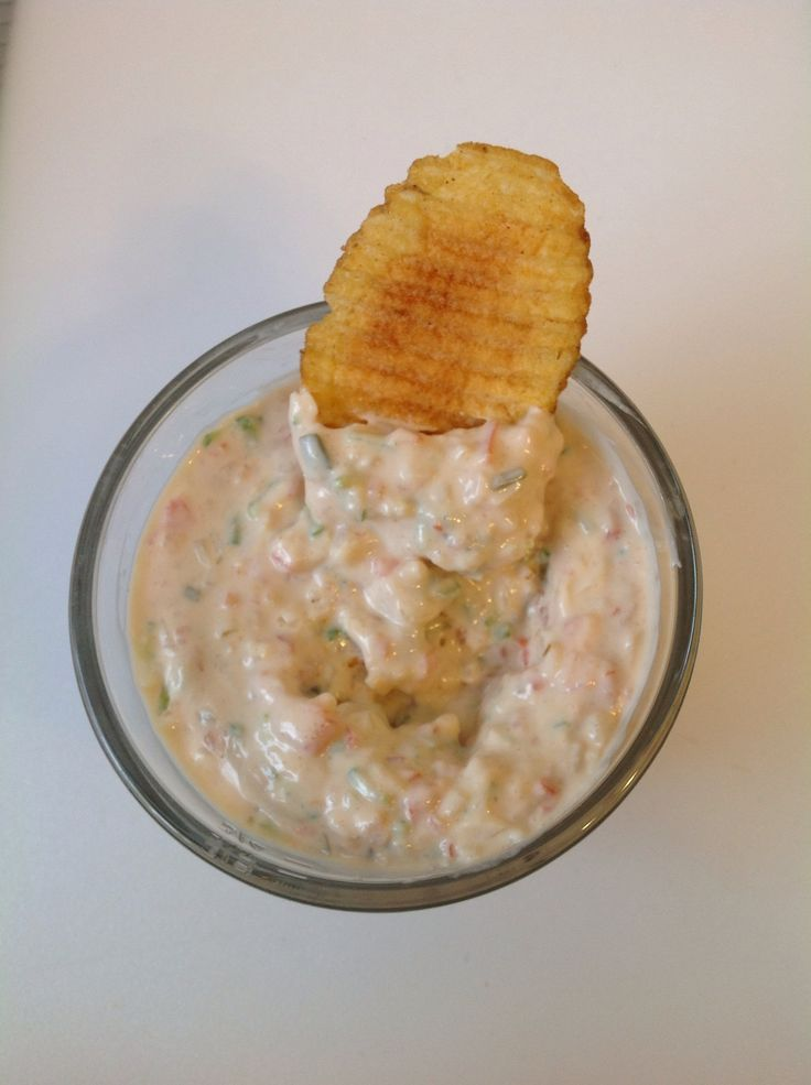 How to make the best party dip for crisps or crackers recipe