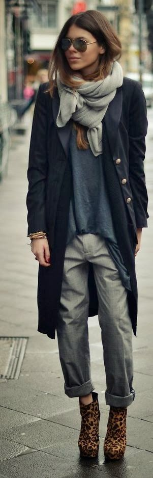 Autumn, winter, fall, layering, outfit, casual, smart, knitwear, tailoring