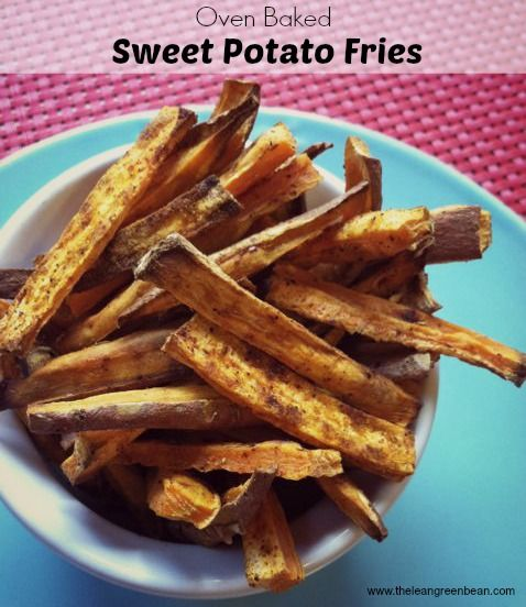 Oven Baked Sweet Potato Fries | Recipes to try this week | Pinterest