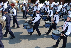 CASHS marching band