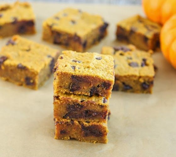 Pumpkin Chocolate Chip Bars | I'm obsessed with pumpkin everything ...