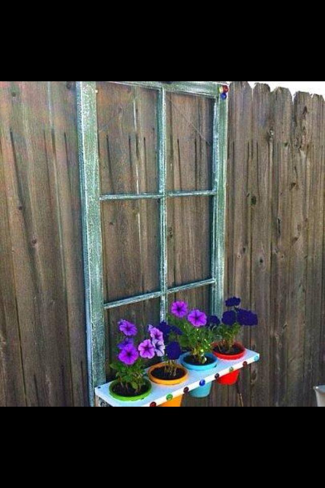 Old window idea jeremy pinterest for Old wooden windows craft ideas