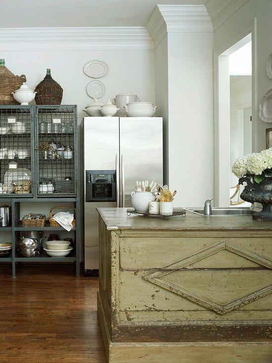 64 unique kitchen island designs kitchens pinterest for Creative kitchen island designs