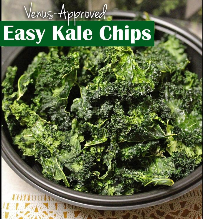 Easy Kale Chips Recipe - Venus Approved! | Food for the Venus Effect ...