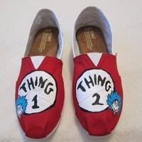 Toms canvas shoes flats