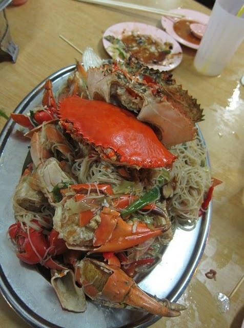 fantastic crab bee hoon from sin huat! | Food | Pinterest