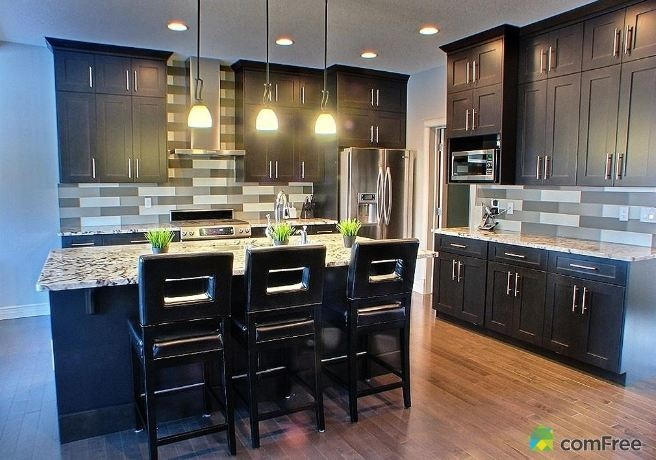 Beautiful Modern Kitchen Contemporary Home Decor Pinterest