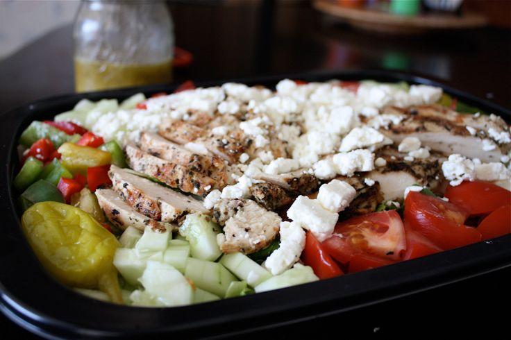 Greek Salad Dressing for Greek Grilled Chicken Salad   AggiesKitchen ...