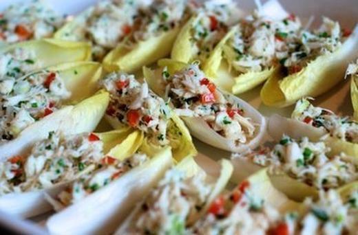 Simple Crab Salad | Eating clean or Paleo | Pinterest