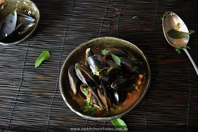 Winter Warming Mussels | Recipe