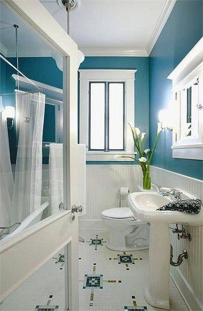Master bath peacock blue home decor pinterest for Peacock bathroom ideas