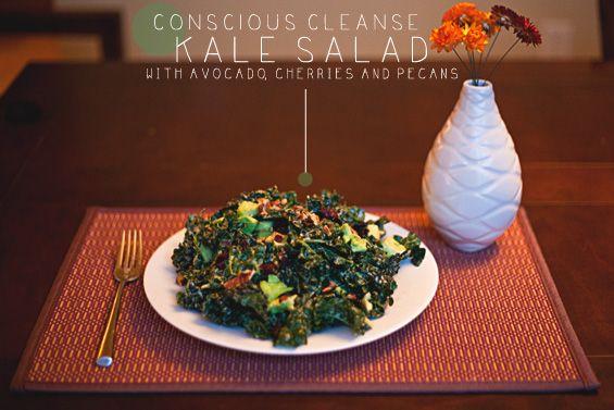 Kale Salad worth massaging.