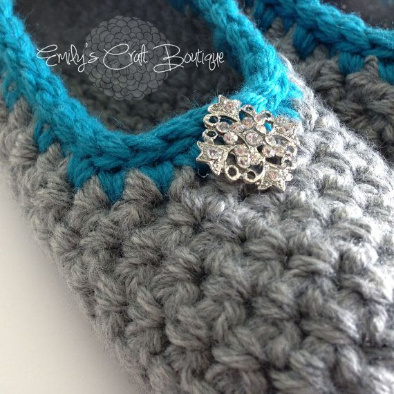 Quick Crochet Patterns : PATTERN Crochet Quick n Cozy Slippers