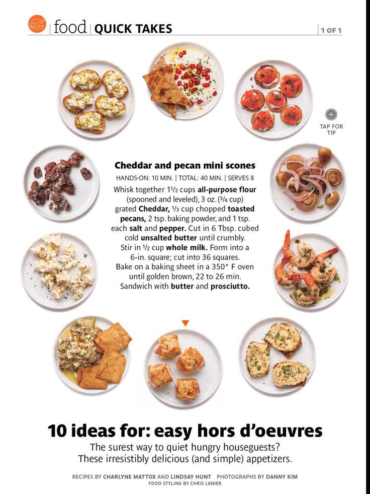 Cheddar arms pecan scones, Real Simple magazine