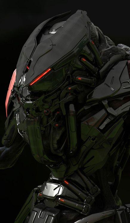 alien robot suit