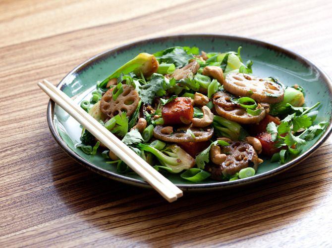 Maple & Sesame Root Vegetable Stir-Fry | Blue Apron recipe