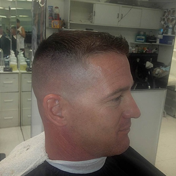 Military Fade Men S Haircuts Pinterest