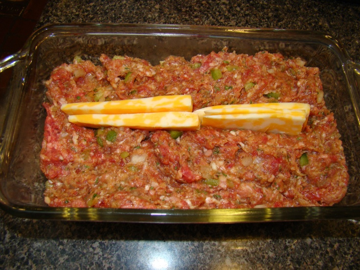 """Barbecue, Bacon, and Cheddar Meatloaf 