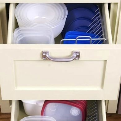 recipe for success 10 easy kitchen storage hacks cd holders to keep
