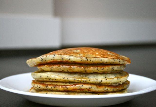 Lemon poppy seed pancakes | Recipe ideas | Pinterest