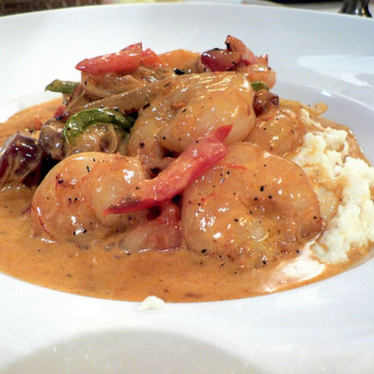 Charleston Shrimp and Grits Recipe | Recipes | Pinterest