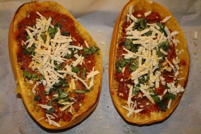 ... this: spaghetti squash , stuffed spaghetti squash and baked lasagna