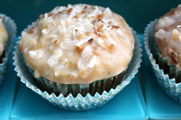 Zucchini-Coconut Muffins | Food Fun | Pinterest