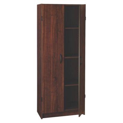 closetmaid pantry cabinet dark cherry new home wish list