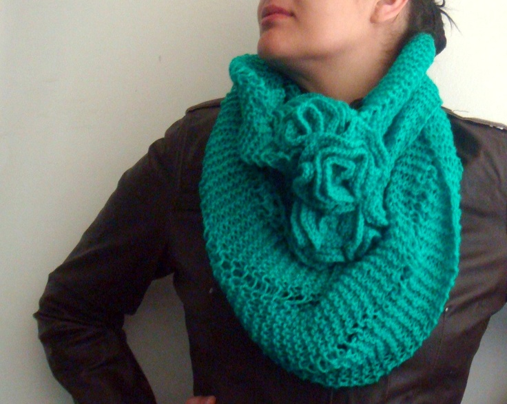 PDF Knitting Pattern Infinity Loop Circle Snood Scarf 49