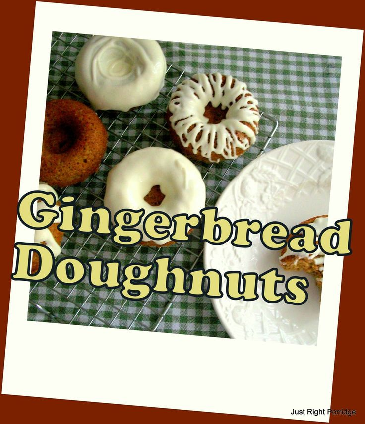 Gingerbread Doughnuts | (THM)Muffins & Donuts & Squares... Oh My! | P...