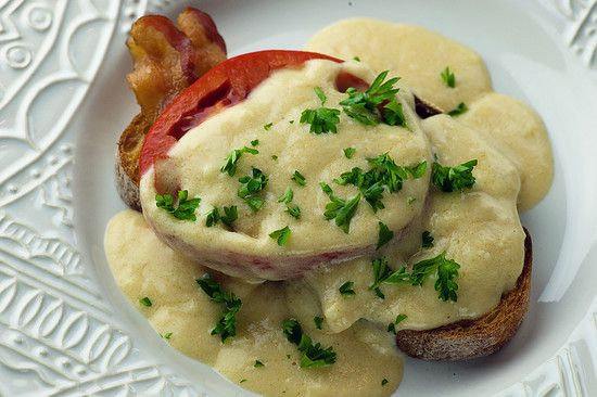 welsh rarebit on beer waffles with bacon and tomatoes recipes welsh ...