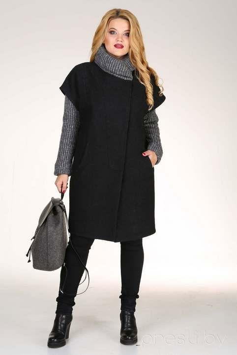 Фото пальто для полных женское 2017